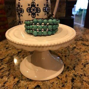 Stella and Dot turquoise bracelet